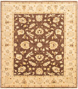 Hand-knotted Carpet 8and0391 X 9and0399 Traditional Vintage Wool Rug