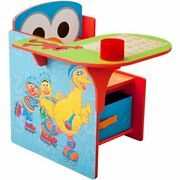 Sesame Street Elmo Toddler Desk Chair With Storage Free Shipping Kids Chair