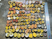 Rough Unpolished China Agate Nodule Crystal 2110g About 70pair Small Size