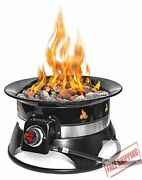 19-inch 58000 Btu Outland Firebowl Propane Gas Fire Pit With Cover And Carry Kit