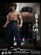 Perfect Hot Toys Dx-04 Enter The Dragon : 1/6th Scale Bruce Lee Action Figure