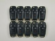 Original Lot Of 10 Ford Fusion 13-16 Oem Flip Key Less Entry Remote Switchblade