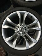 Audi S5 Oem 18 Wheels And Tires Set Of 4 - 8t0601025cl / Pirelli P7 245/40/18