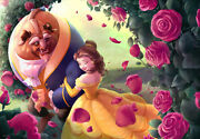 Disney 1000 Pieces Small Diameter Of Roses Beauty And The Beast 51x73.5cm 6-103