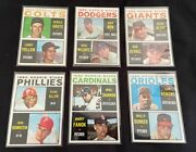 1964 Topps Baseball Rookie Stars Cards, 14, 47, 201, 226, 243 And 262 - 6 Cards