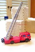 N Scale Wiking 96203 Magirus Dl 30 With Turntable Ladder Fire Truck New In Box