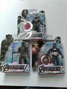 Marvel Avengers Captain America, Black Panther And Ant Man Action Figures