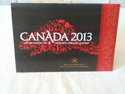 2013 Canada Uncirculated Coin Set Royal Canadian Mint 61,702 Mintage