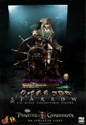 Hot Toys Dx-06 The Pirates Of The Caribbean 1/6th Captain Jack Sparrow Figure