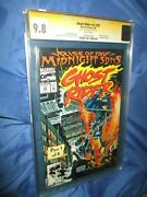 Ghost Rider 28 Cgc 9.8 Ss Signed Andy Kubert 1st Appearance Of /midnight Sons