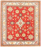 Vintage Hand-knotted Carpet 8and0393 X 9and0395 Traditional Oriental Wool Area Rug