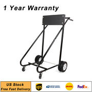 315 Lbs Outboard Boat Stand Carrier Cart Heavy Duty Tool Dolly Storage Motor Usa