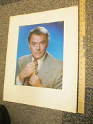 Tv Guide Cover Portrait 1976 Gibbsville Nbc Gig Young News Reporter