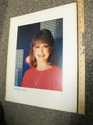 Tv Guide Cover Portrait 1984 Nbc Today Show Jane Pauley Journalist News Anchor
