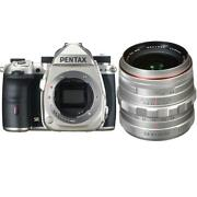 Pentax K-3 Mark Iii Aps-c-format Dslr Camera Silver With 20-40mm F2.8-4 Ed Lens