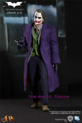 Hot Toys - Dx-11 - The Dark Knight 1/6th The Joker Action Figure Deluxe Edition