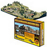 Woodland Scenics St1486 Ho City And Industry Building Set