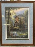 Jesse Barnes 1993 Afternoon Leisure Limited Edition Print /2400 Framed Matted