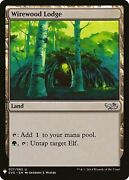 Wirewood Lodge – Mystery Booster Mtg Card