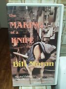 Bill Moran The Making Of A Knife Vhs Tape Signed Limited Edition 10 0f 100 New