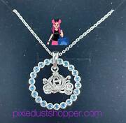 Disney Cinderella Carriage Sterling Silver Necklace By Rebecca Hook