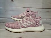 New Adidas Pureboost Go Womenandrsquos Athletic Shoes Orchid Tint/white B75824 Sz 9