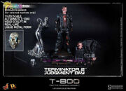 Hot Toys Dx13 - Terminator 2 1/6th T-800 Battle Damaged Versiondeluxe Edition