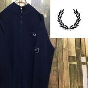Fred Perry Hit Union Embroidery Laurel Logo Driverand039s Knit Old Clothes