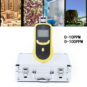 Ozone Detector Dust And Explosion Proof Usb Recharge W/ Aluminum Alloy Suitcase Us