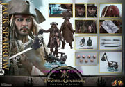 Hot Toys Dx15 Pirates Of The Caribbean 1/6th Jack Sparrow Action Figure Stock