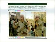 1993 Marines Sweep The Mogadishu Market For Arms An - Vintage Photograph 2283814