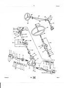 601 641 804 841 861 801 Ford Tractor Power Stering Column Rebuilt