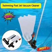Swimming Pool Vacuum Cleaner Kit Pool Pond Spa Hot Cleaning Robot Tub 2021 Fast