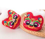 Chinese Handmade Tiger Head Shoes 0-3 Years Old Baby Shoes