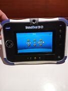 Vtech Innotab3 S With 6 Games Charger Cable And Tmnt Carring Bag