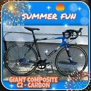 Giant Tcr Composite C2 Road Bike - M/l Size Exc Cond