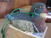 Wooden Carved Duck By Jim Palmer