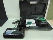 Hitachi Ds 14dvf13 14.4v Cordless Drill Flashlight Battery And Upgrade Charger
