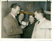 Tom Finney The Former England And Preston North End. - Vintage Photograph 1835341