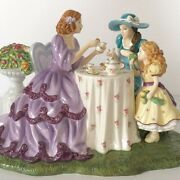 Royal Doulton Pretty Ladies Afternoon Tea Limited Edition . Canadian Exclusive .