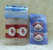 University Of Oklahoma Sooners Baby Bottles And Pacifiers Baby Fanatic See Details
