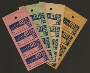 Ice Service Delivery Co. Akron Ohio Chain Store Nice Coupon Panes Set