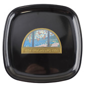 Couroc Of Monterey, 8.5 In. X 8.5 In. Square Tray With The Famous Holman's Arch