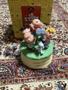 Snoopy Music Box Made Of Cold Cast Charlie Brown Torso