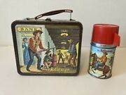 Lucas And Mark…hard To Find 1960 Rifleman Lunch Box With Thermos