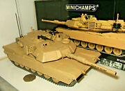 Minichamps M1a2sep Abrams Tank Iraq Freedom -2003 Diecast Model In 135 Scale