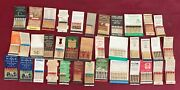 Vintage Feature Matchbooks Lot Of 37 All Kinds And Places Read What In Group