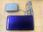 Nintendo 3ds Midnight Purple Video Game Console With Charger