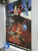 Nick Fury Agent Of Shield Poster 34 X 22 Steranko - Vintage 1988 New