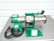 Greenlee 6800 Ultra Tugger 8000lb Cable Wire Puller Force Gauge And Floor Mount